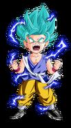 Goku GT SSJ Blue