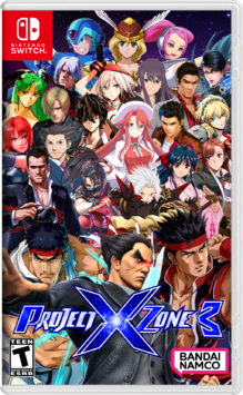 Project X Zone 3 NS Cover