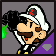 IN Nega Paper Luigi Icon