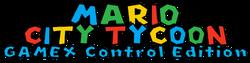 Mario City Tycoon GAMEX Control Edition Logo