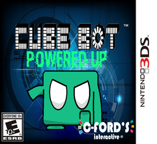 Cube Bot Powered Up (3DS)