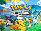The Starters of Pokemon Black and White (Serie)