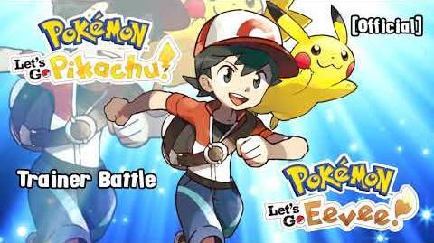 Trainer Battle Theme - Pokemon Let's Go Pikachu & Eevee Music