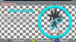 Nega Silver Sonic World R7