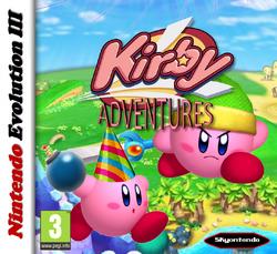 Kirby Adventures Carátula