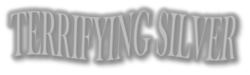 Terrifying Silver Logo