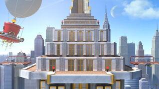 SSBU-New Donk City Hall