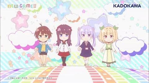TVアニメ「NEW GAME!!」エンディングテーマ「JUMPin' JUMP UP!!!!」試聴動画