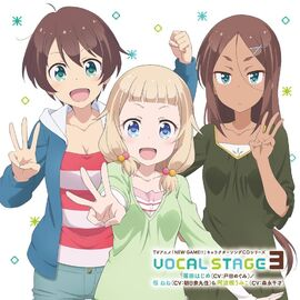 NEW GAME!! Character Song CD Series VOCAL STAGE 3