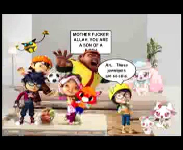 Jewelpet Candado Episode 7 - The visit of Boboiboy~dado