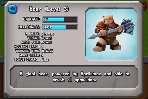 Bear (Level 3)