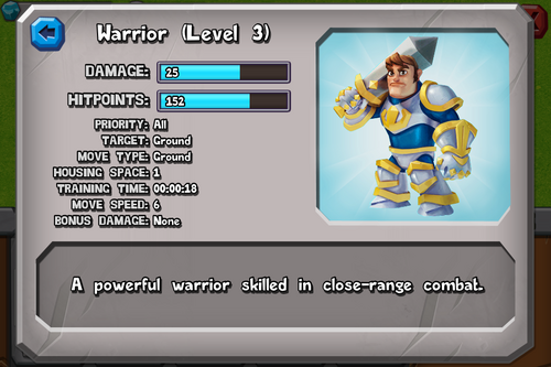 Warrior (Level 3)