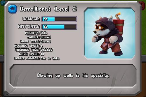 Demolitionist (Level 2)