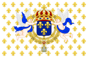Royal Standard of the King of France svg