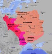 Lietuva ir Lenkija Lithuania and Poland 1387