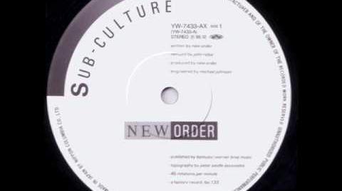 New Order - SUB CULTURE