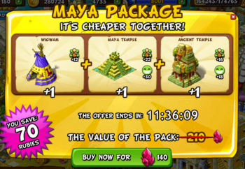 Mayan package deal