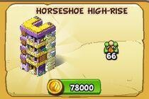 Horseshoe highrise