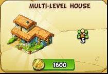 Multi-level house new
