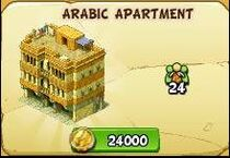 Arabic apartment new