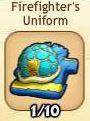 Firefighter's uniform (blue)