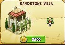 Sandstone villa new