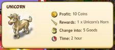 Unicorn reward