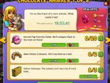 Chocolate Animals