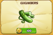 Cucumbers new