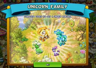 Unicorn Family: Rocky Highland 15 Expansion