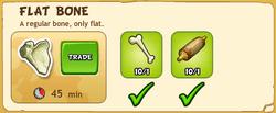 Flat Bone