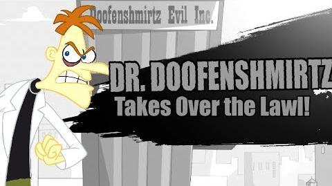 Super Smash Bros Lawl Nova Moveset- Dr. Doofenshmirtz (Phineas & Ferb)