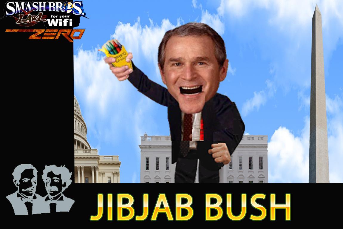 jibjab bush new smash bros lawl origin wiki fandom powered by wikia