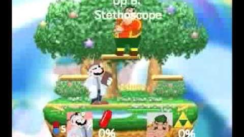 Smash Bros Movesets-Toon Dr. Mario