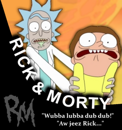 Rick and Morty Character Portrait