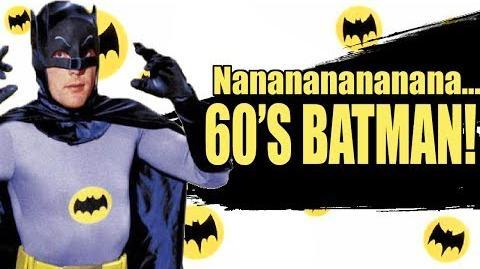 Super Smash Bros. Lawl Nova Moveset- 60's Batman (Batman 1966)