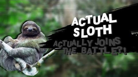 What If an Actual Sloth was in Smash Bros? (Smash Bros Lawl Moveset)