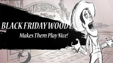 "Smash Bros. Lawl Zero Character Moveset - Black Friday Woody (Toy Story ""Black Friday"" Reel)"