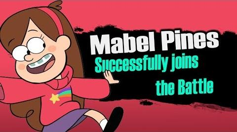 Smash bros Lawl X Character Moveset - Mabel Pines-1