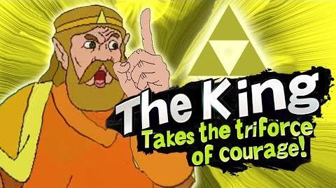 Smash Bros Lawl Character Moveset - The King