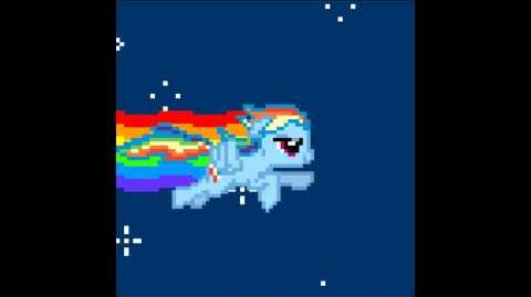 Nyan Rainbow Dash (Heavy Metal)