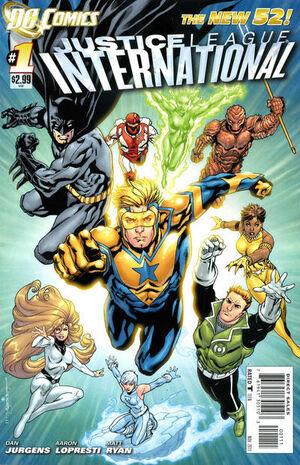Justice League International 1