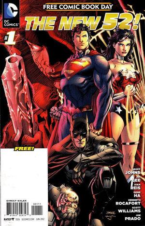 DC Comics The New 52 FCBD Special Edition 1