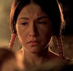 Young Lenape Woman