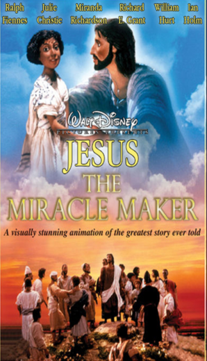 Jesus The Miracle Maker 2000 VHS