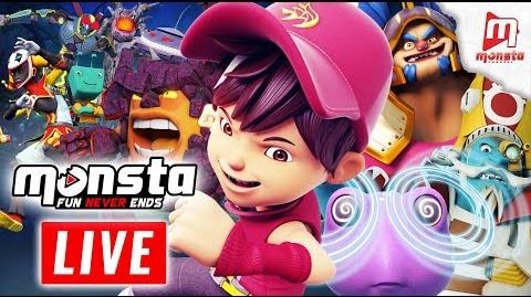 🔴 Monsta TV LIVE 24 7! - (BoBoiBoy Galaxy, Om Nom Stories, Impian REMI)-0