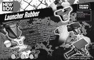 Rubber-launch
