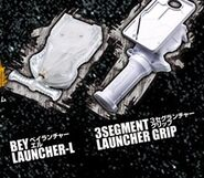 Launcher Grip and Launcher-L