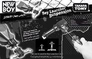 Bey-launcher-suspension