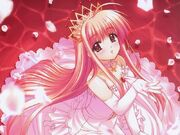 Pink anime princess